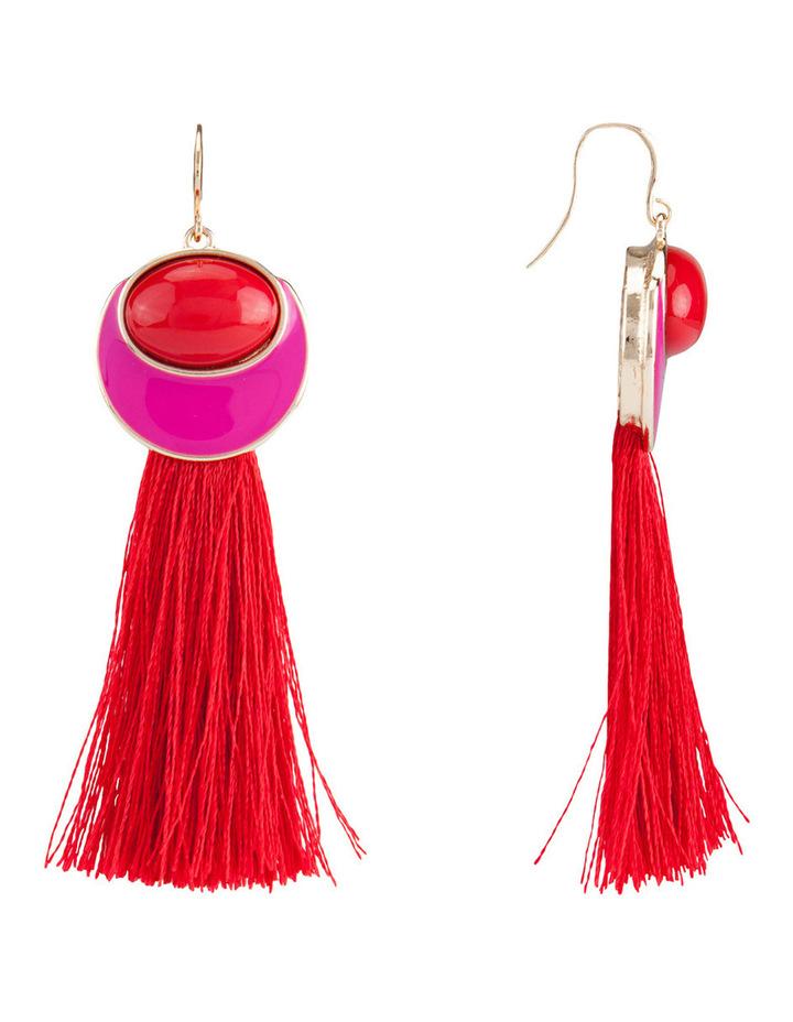 Sorbet Tassel Earring image 2