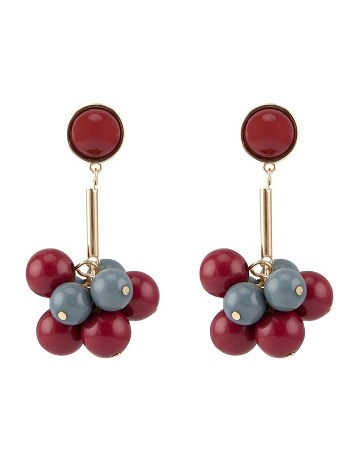 Cluster Drop Earring image 1