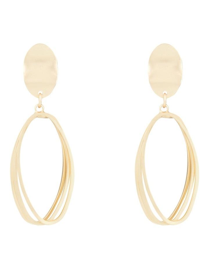 Multi Ring Earring image 1