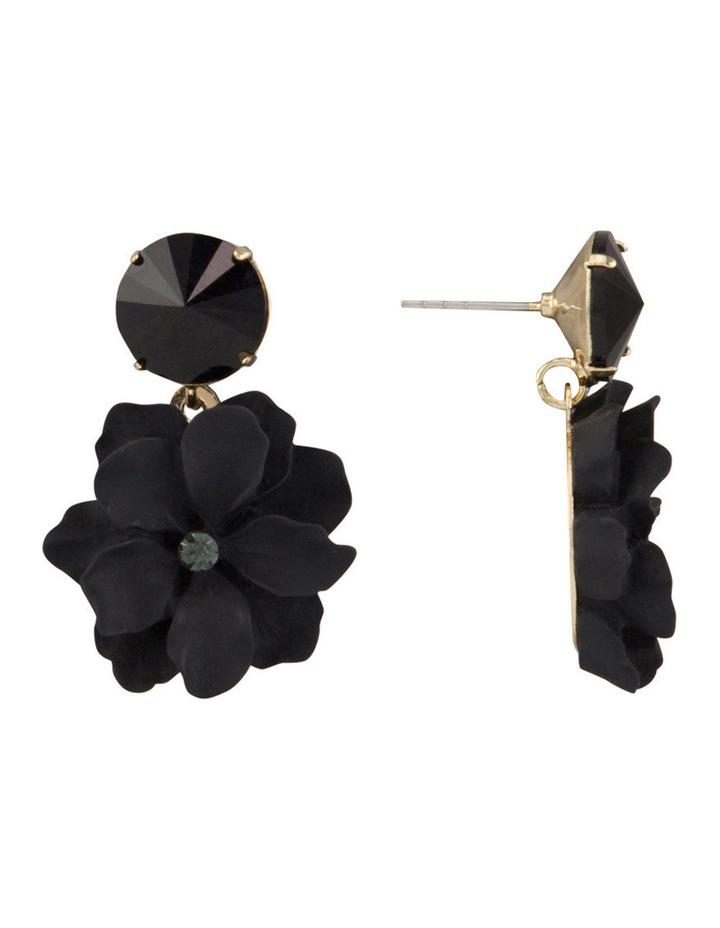 Flower & Stone Earring image 2