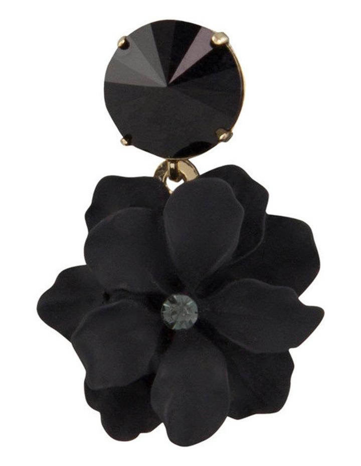 Flower & Stone Earring image 3