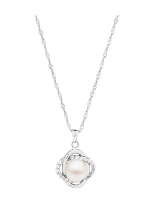 Pure Elements - Gift Box SS Pearl Pendant M0684ANS-002