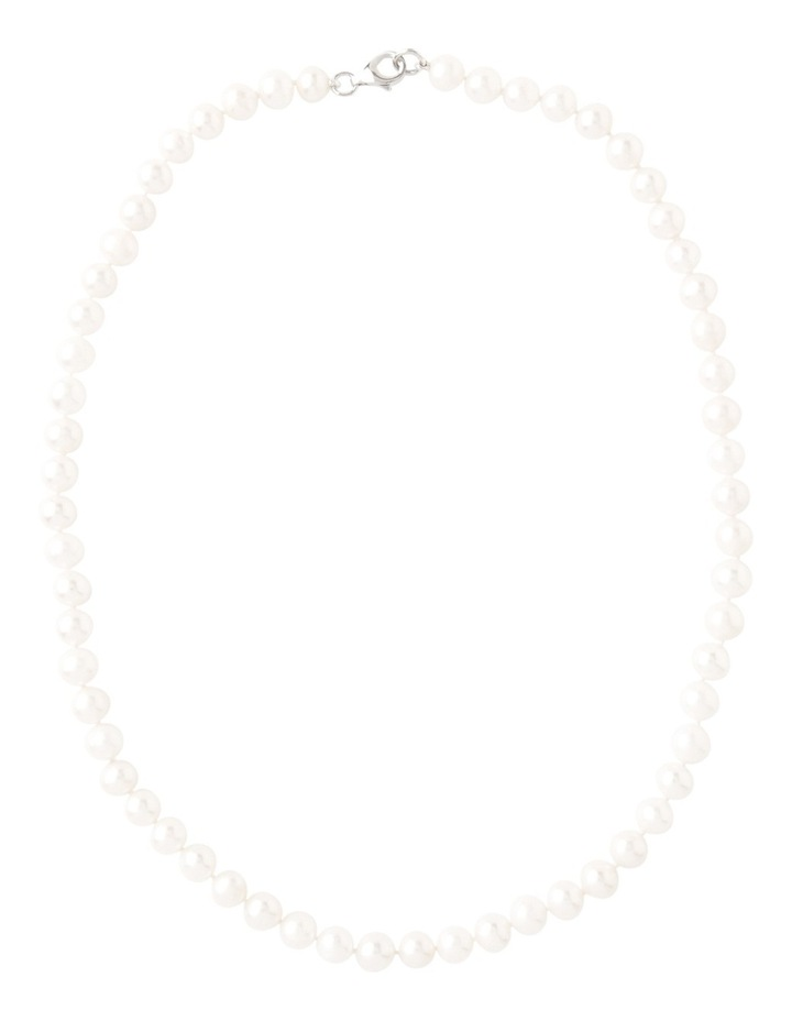 Cultured Freshwater Pearl Sterling Silver Necklace image 2