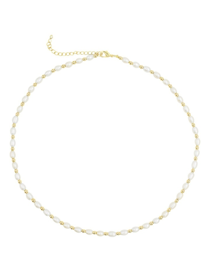 Contemporary Pearl Necklace image 1