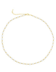 Pure Elements - Contemporary Pearl Necklace