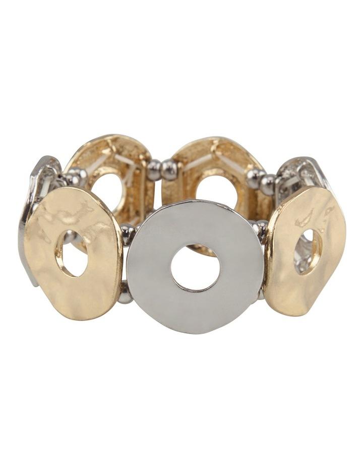 Disc Stretch Bracelet image 1