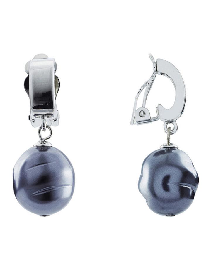 B454CE-HEM Baroque Clip Earring image 3