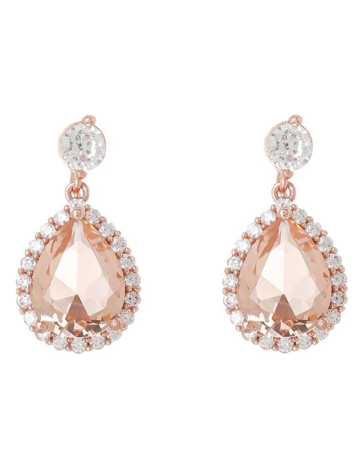 GYE5314M Silk teardrop earrings image 1