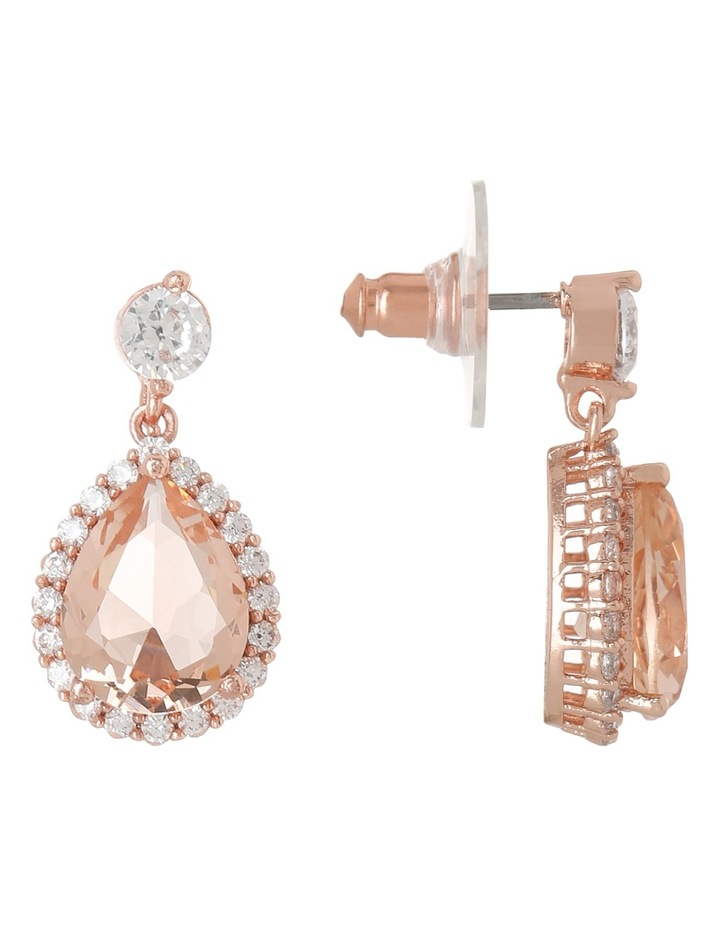 GYE5314M Silk teardrop earrings image 2