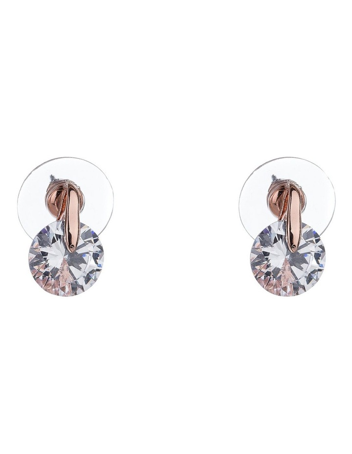 GYE2200M CZ With Metal Post earrings image 1