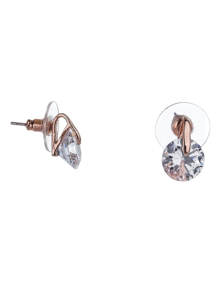 GYE2200M CZ With Metal Post earrings image 2