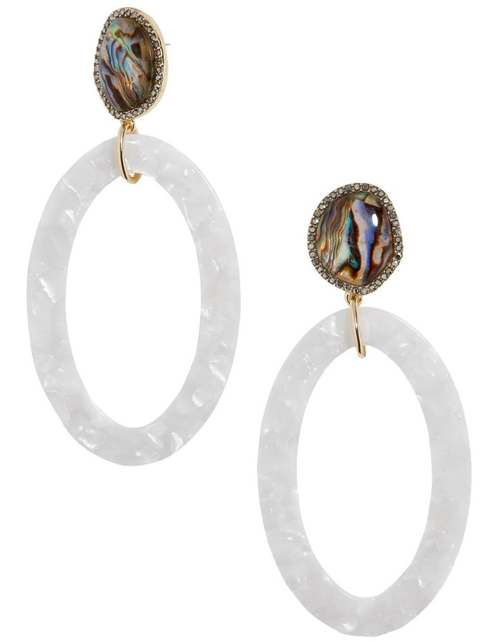 Trisha Hoop Earrings image 1