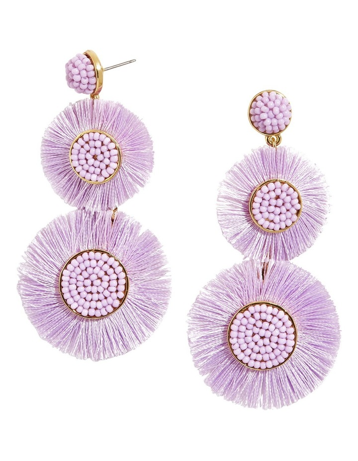 Mariette Fringe Drop Earrings image 1