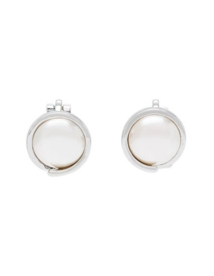 Pearl Clip Earring image 1