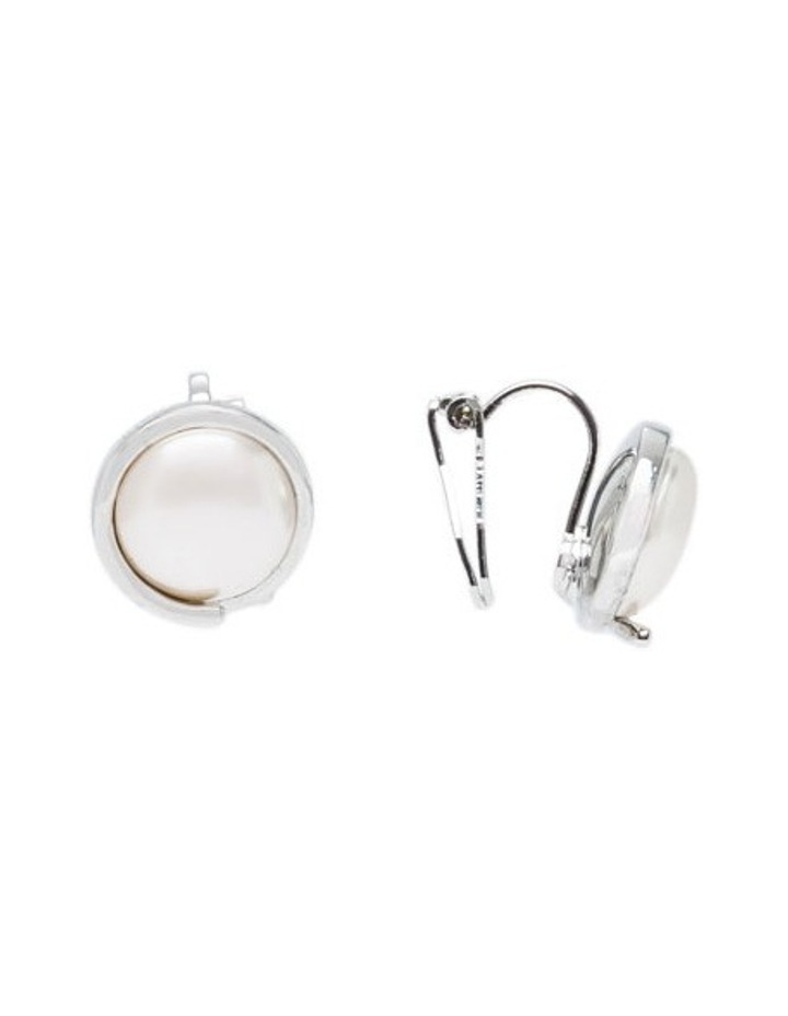 Pearl Clip Earring image 2