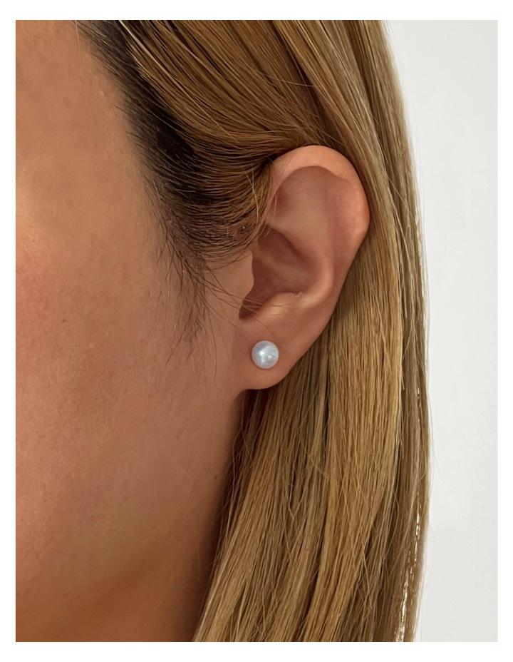 6.5-7mm Freshwater Pearl Stud Earring image 2