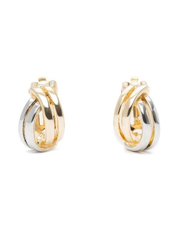 R743CE-T/T Metal Clip Earrings image 1
