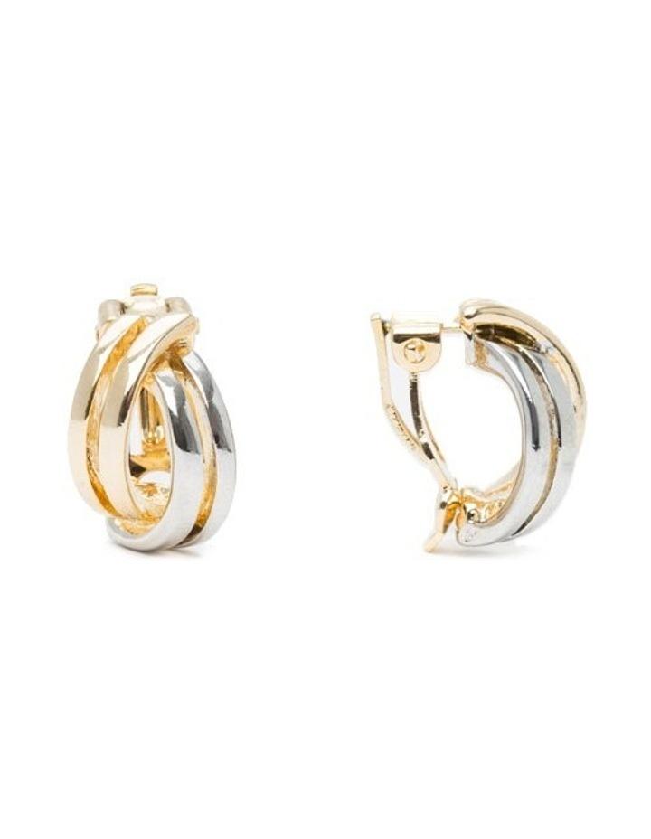 R743CE-T/T Metal Clip Earrings image 2