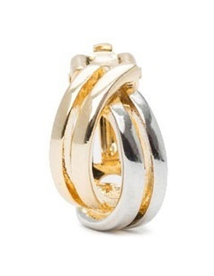 R743CE-T/T Metal Clip Earrings image 3