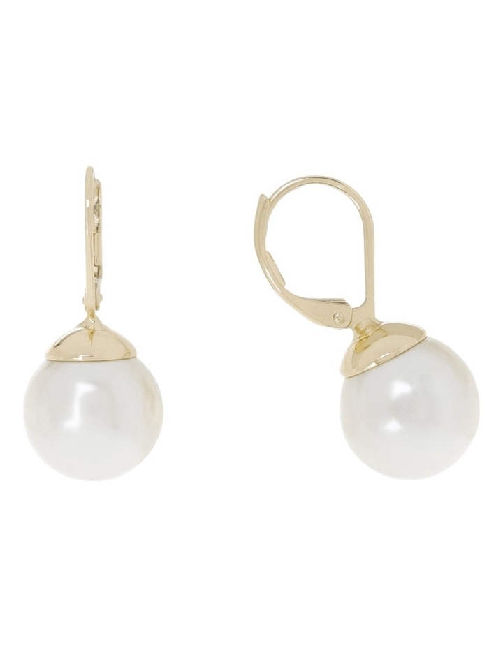 French Hook Faux Pearl Earring image 2