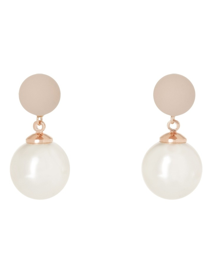 Small Pink Ball With Large Faux Pearl image 1