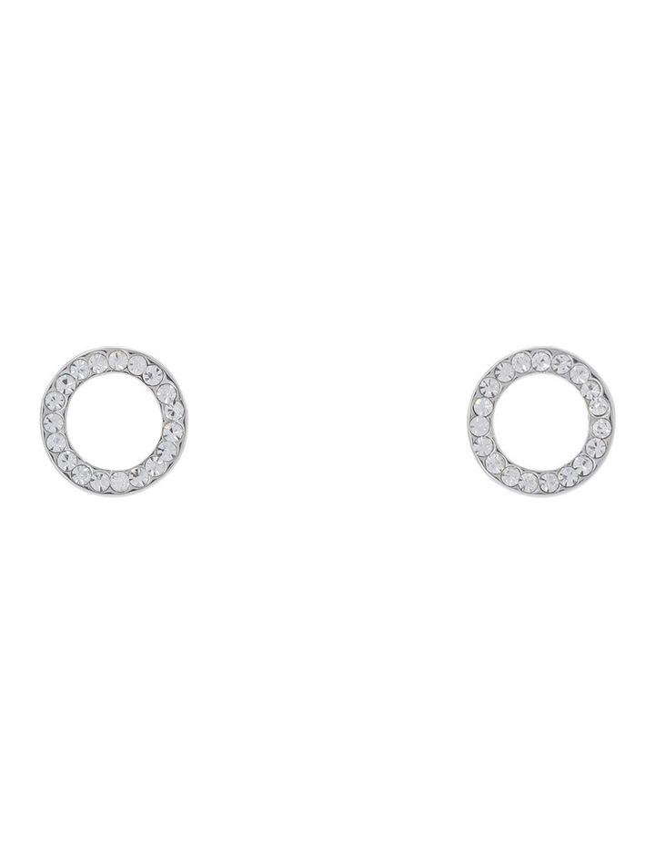 CZ Circle Earring image 1
