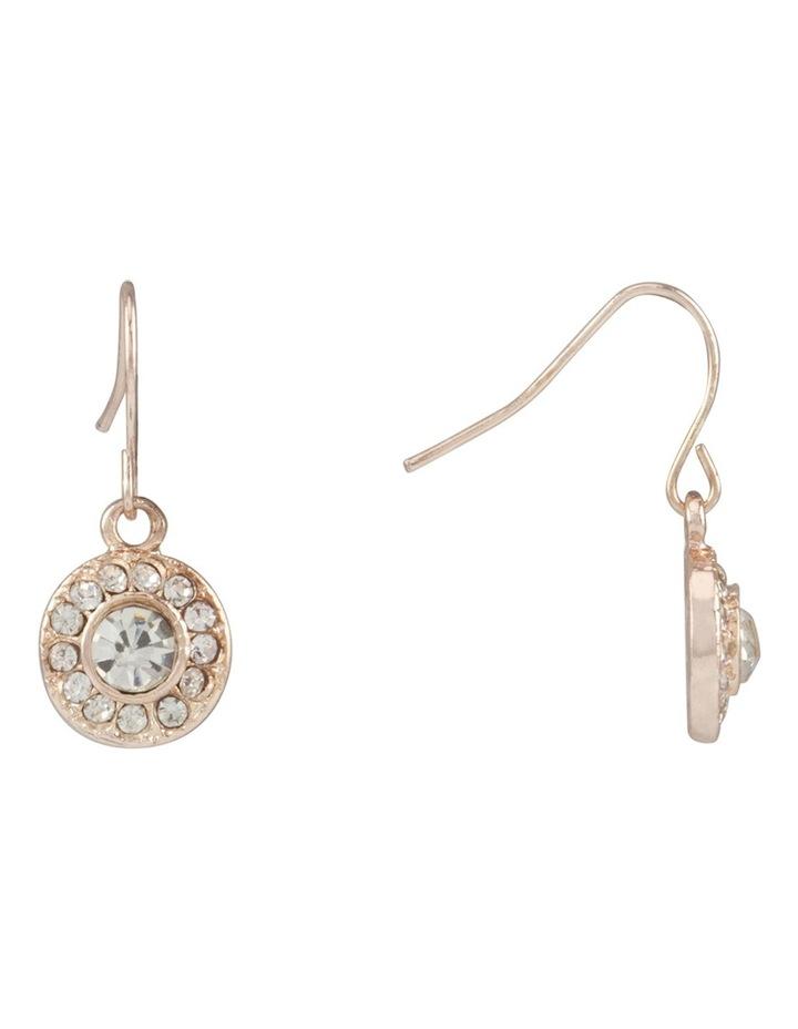 Multi Stone Drop Earring image 2