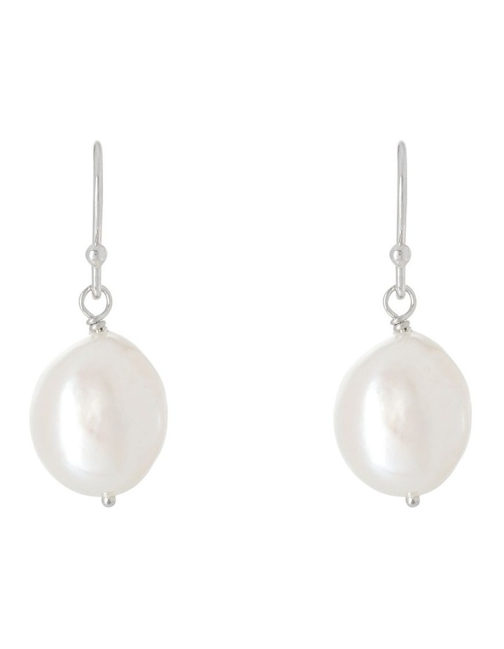 Unique Baroque Pearl Earrings image 1