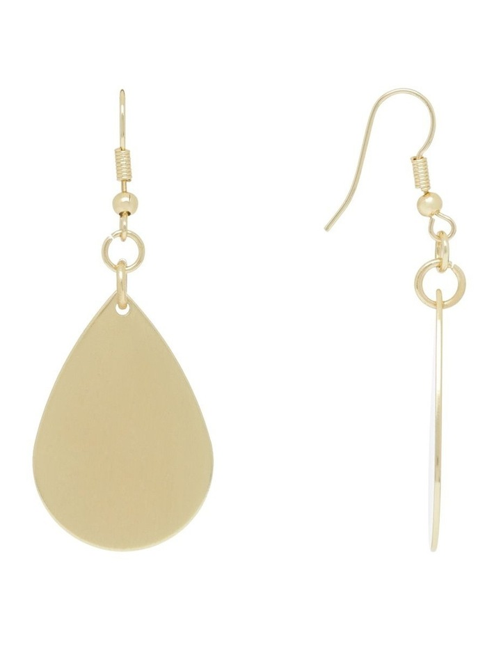 Matt Teardrop Earring image 2
