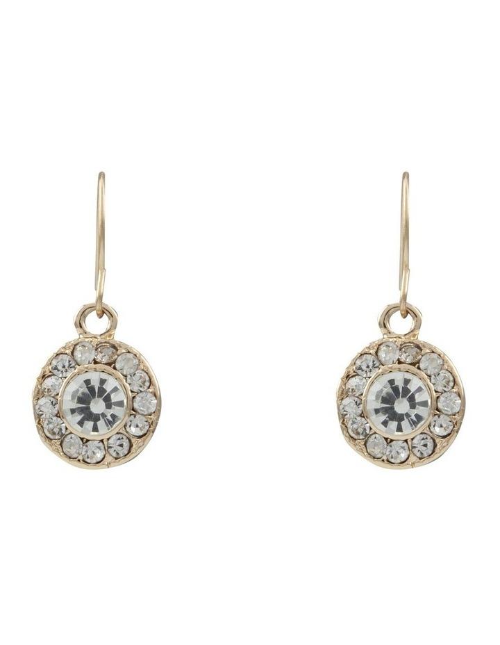 Multi Stone Drop Earring image 1