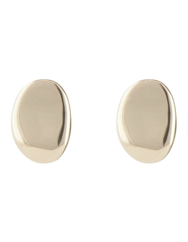Button Earring image 1
