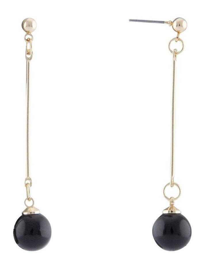 Ball & Bar Drop Earring image 2