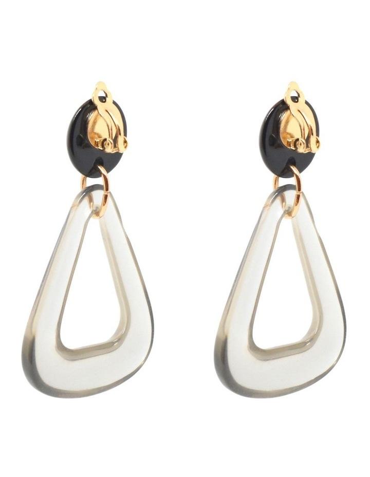 Nina Resin Clip On Earrings image 2