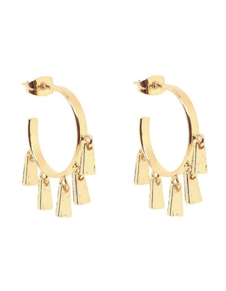 Millie Mini Hoops Gold image 1