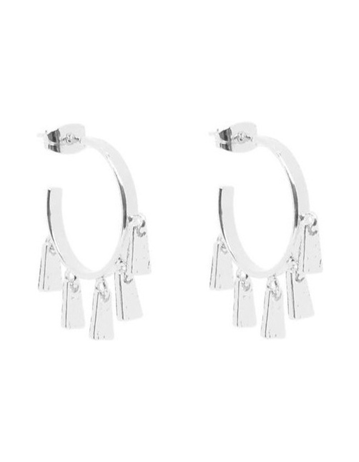 Millie Mini Hoops Silver image 1