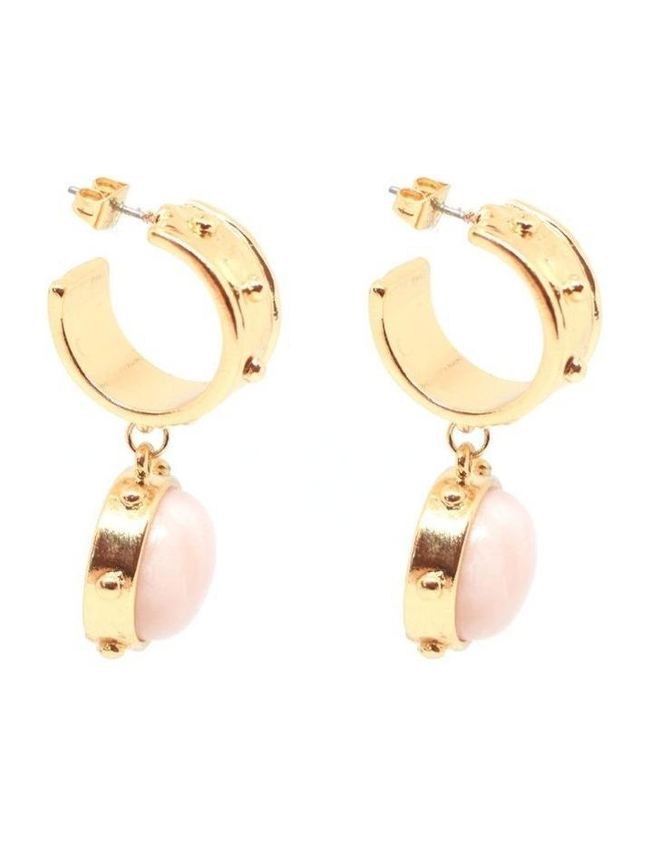 Gabriella Hoop Drop  Earrings image 3