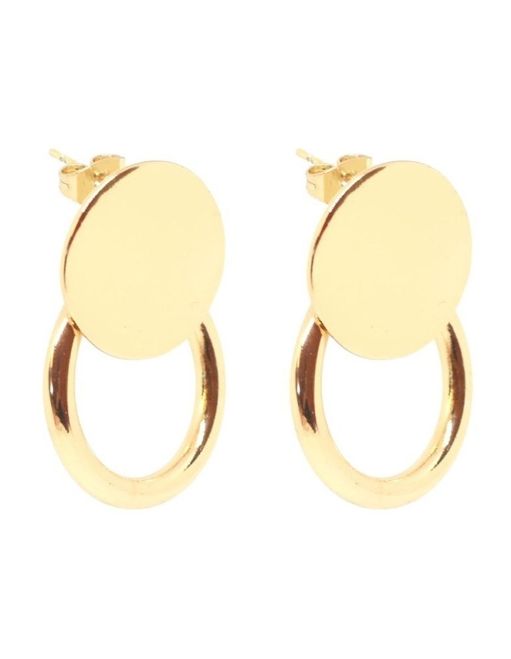 Paris Ring Studs Gold image 2