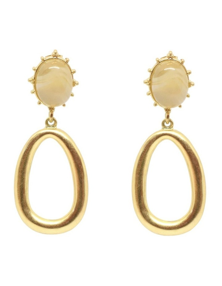 Clara Earrings Gold image 1