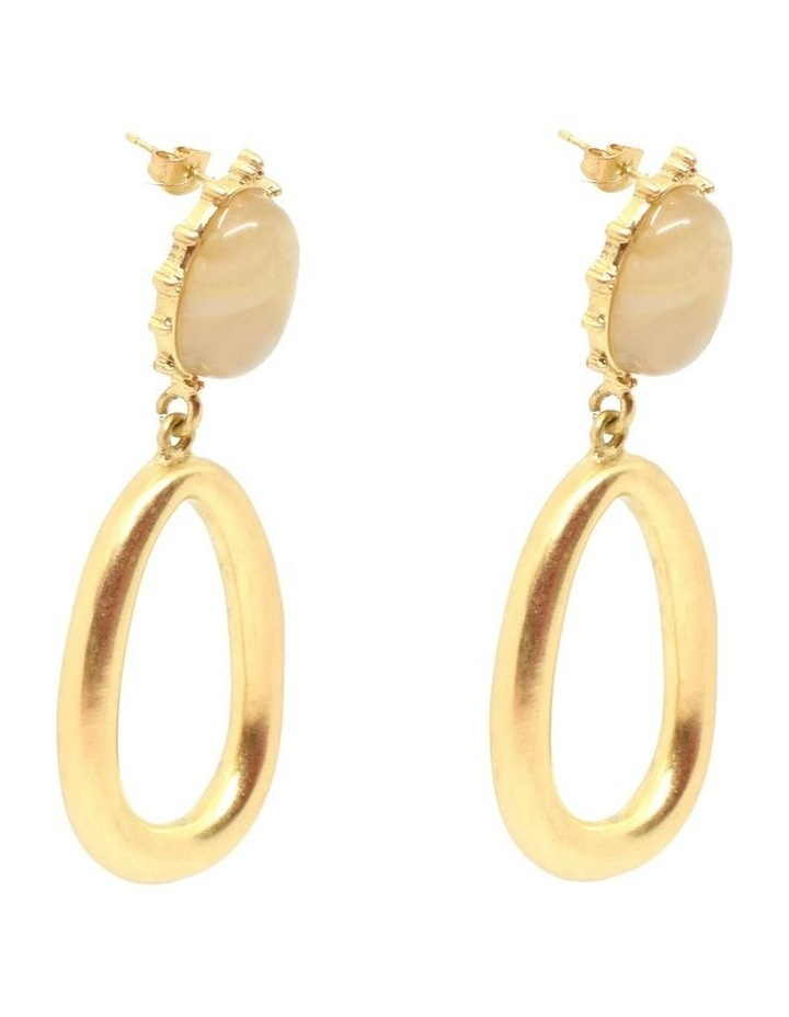 Clara Earrings Gold image 2