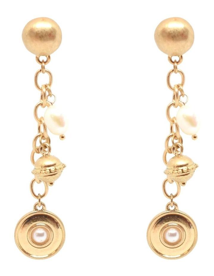 Doriana Pearl Drop Earrings image 1