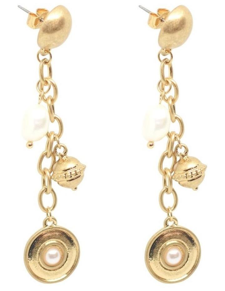 Doriana Pearl Drop Earrings image 2