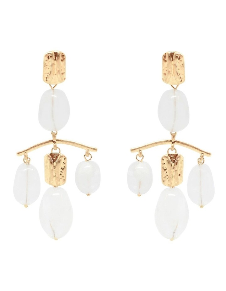 Amelie Statement Earrings Gold image 1