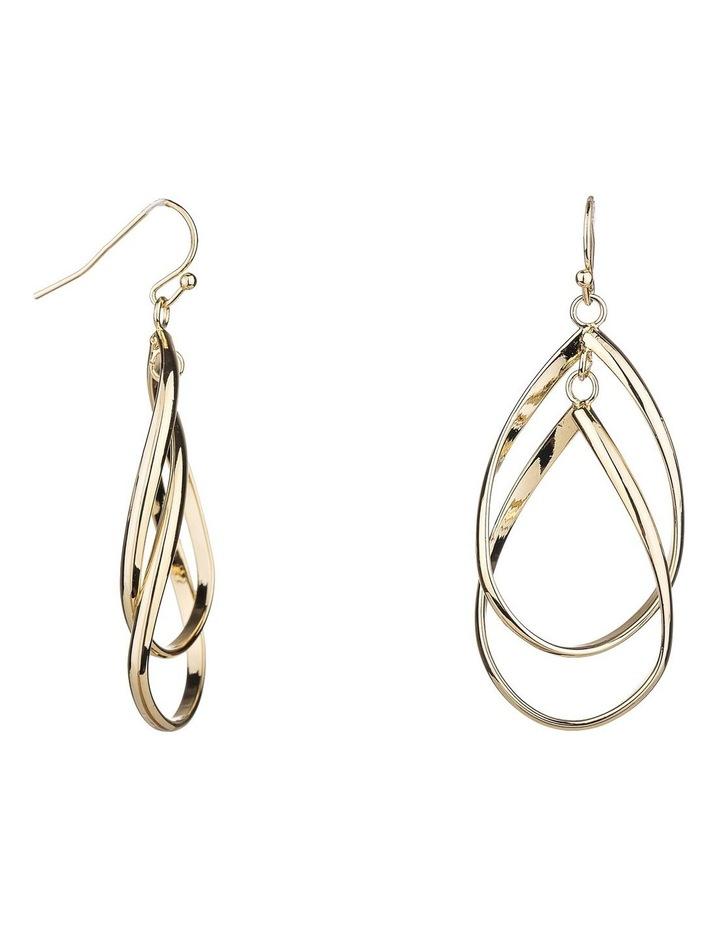 Drop Metal Earrings image 2