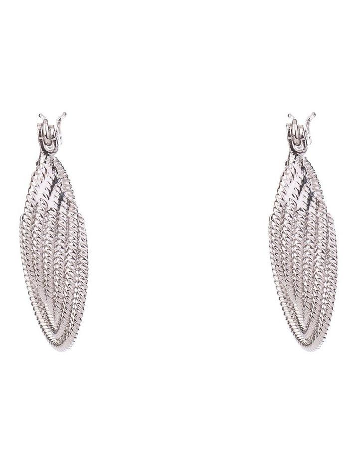 Textured Rope Earrings image 1
