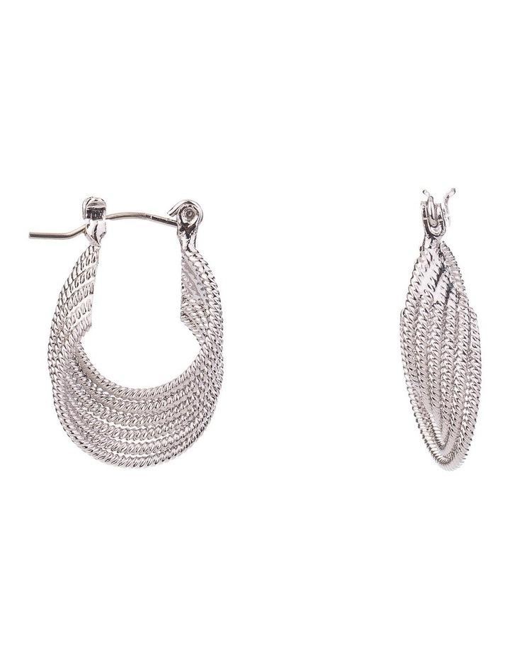 Textured Rope Earrings image 2