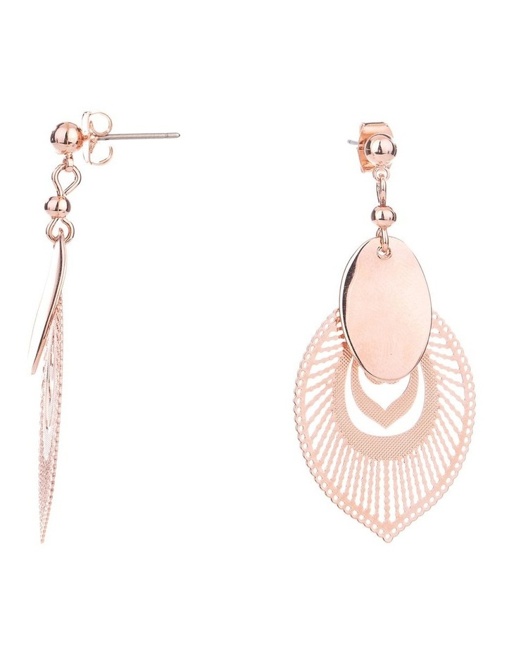 Feather Drop Earrings image 2