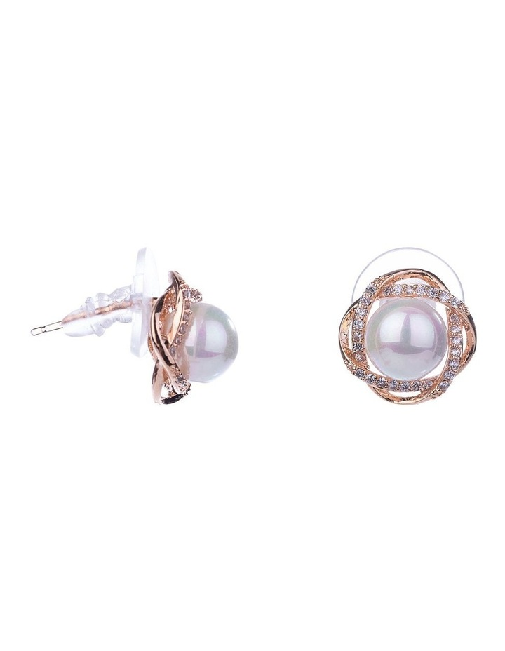 Floral Pearl Earrings image 2