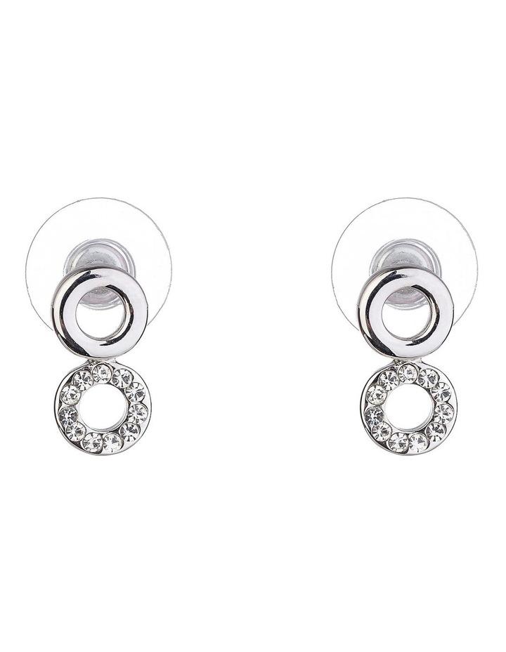 Small CZ Earrings image 1