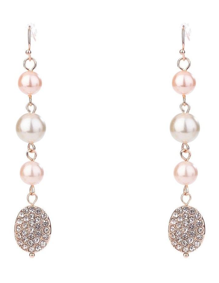 Multi Pearl Drop Earring image 1