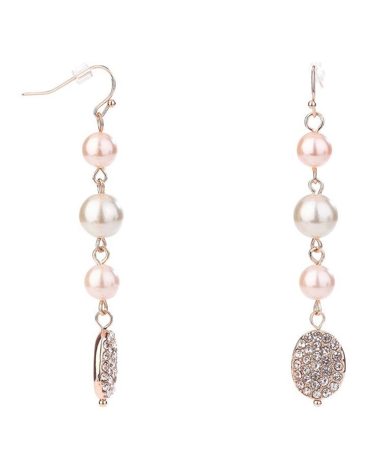 Multi Pearl Drop Earring image 2